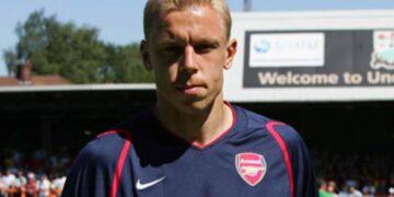 Mart Poom Londoni Arsenali särgis. Foto: Arsenal.com