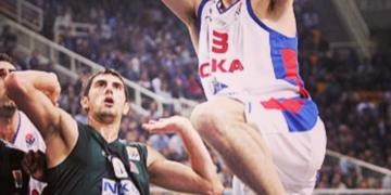 Martin Müürsepp Moskva CSKA särgis. Foto: Instagram @muur1205