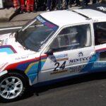 Peugeot 205 T16 oli kiire ralliauto, kuid ei järginud 1986. aastal reegleid. Foto: kuvatõmmis YouTube'ist