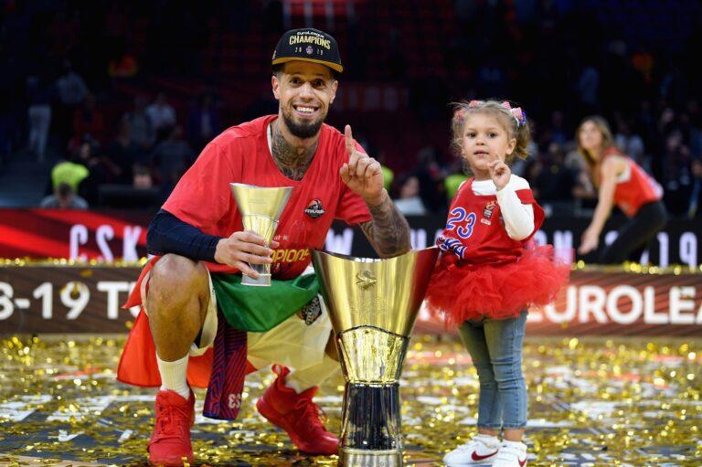 Euroliiga valitsev meister Moskva CSKA on kahe kümnendi üks edukamaid satse. Pildil armeesatsi tagamees Daniel Hackett. Foto: euroleague.net