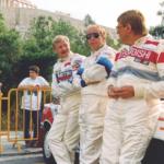 Juha Kankkunen (kõige vasemal). Foto: Instagram@juhakankkunendrivingacademy