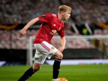 Donny van de Beek Manchester Unitedi särgis. Foto: Instagram @donnyvdbeek