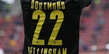 Jude Bellinghami särk numbriga 22. Foto: Instagram @judebellingham