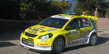 Suzuki SX4 WRC 2008. aasta Prantsusmaa WRC-etapil. Foto: Wikipedia