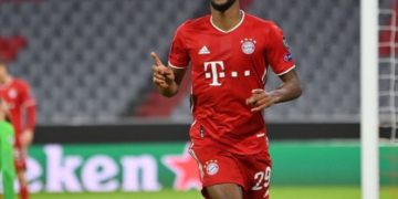 Kingsley Coman Müncheni Bayerni särgis. Foto: king_coman@Instagram